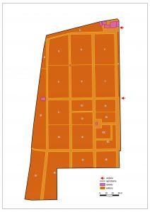 plan cmentarza